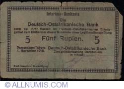 Image #1 of 5 Rupien 1915 letter E