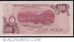 Image #2 of 100 Pesos ND(1976-1978)