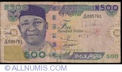 Imaginea #1 a 500 Naira 2001