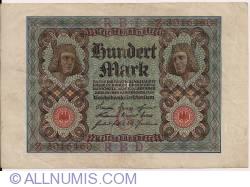 Imaginea #1 a 100 Mark 1920 (1. XI.) - G