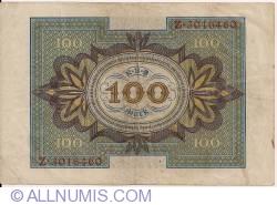Imaginea #2 a 100 Mark 1920 (1. XI.) - G