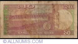 Image #2 of 10 Taka ND (1982) - signature Shegufta Bakht Chaudhuri