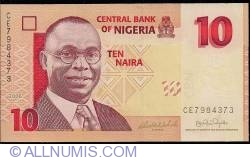 Image #1 of 10 Naira 2006 - 7 digit serial