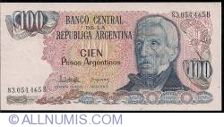 Image #1 of 100 Pesos Argentinos ND (1983-1985)