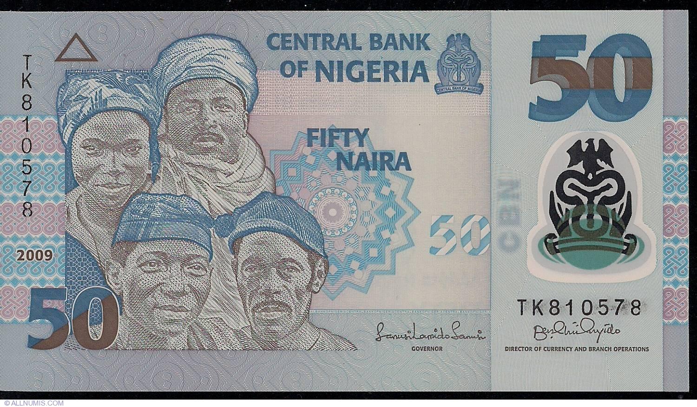 50 Naira 2009 1