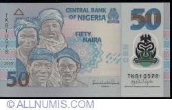 Imaginea #1 a 50 Naira 2009 (1)