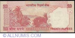 Image #2 of 20 Rupees 2009 - E