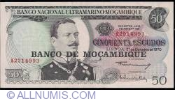Image #1 of 50 Escudos ND (1976)