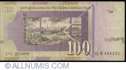 Imaginea #2 a 100 Denari (Денари) 1997 (VIII.)