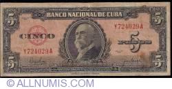 Imaginea #1 a 5 Pesos 1950
