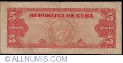 Image #2 of 5 Pesos 1950