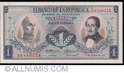 Imaginea #1 a 1 Peso Oro 1973 (7. VIII.)