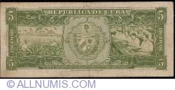 Image #2 of 5 Pesos 1958