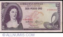 Imaginea #1 a 2 Pesos Oro 1977 (20. VII.)