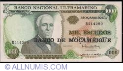 Image #1 of 1000 Escudos ND (1976)
