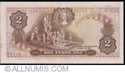 Imaginea #2 a 2 Pesos Oro 1977 (20. VII.)