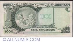 Image #2 of 1000 Escudos ND (1976)