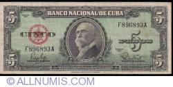 Image #1 of 5 Pesos 1960