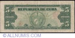 Image #2 of 5 Pesos 1960