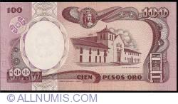 100 Pesos Oro 1991 (1. I.)