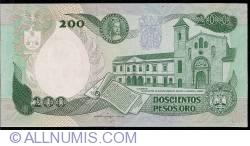 Imaginea #2 a 200 Pesos Oro 1991 (1. IV.)