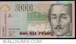 Image #1 of 2000 Pesos 2007 (16. VIII.)