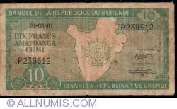 Image #1 of 10 Francs 1981 (1. VI.)