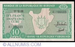 Image #1 of 10 Francs 1989 (1. X.)