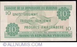 Image #2 of 10 Francs 1989 (1. X.)
