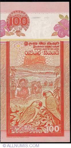 Imaginea #2 a 100 Rupees 2006 (3. VII.)