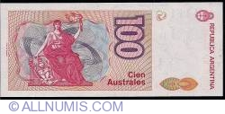 Image #2 of 100 Australes ND (1985-1990) - 2