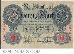 Image #1 of 20 Mark 1910 (21. IV.)