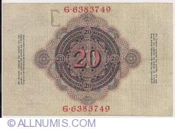 Image #2 of 20 Mark 1910 (21. IV.)