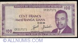 Image #1 of 100 Francs 1988