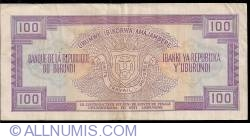 Image #2 of 100 Francs 1988