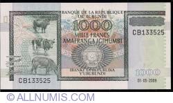Imaginea #1 a 1000 Franci 2009 (1. V.)