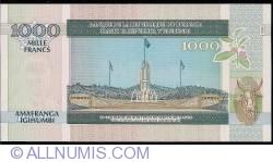 Imaginea #2 a 1000 Franci 2009 (1. V.)