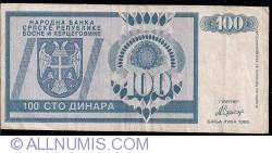 Imaginea #1 a 100 Dinara 1992