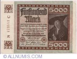 5000 Mark 1922 (2. XII.)