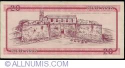 Imaginea #2 a 20 Pesos ND (1985)