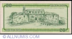Image #2 of 20 Pesos ND (1985)