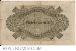 Image #2 of 2 Reichsmark ND (1940-1945)