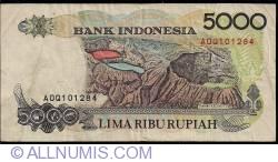 5000 Rupiah 1992/1997