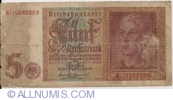 Imaginea #1 a 5 Reichsmark 1942 (1. VIII.)