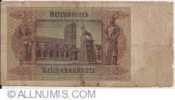 Imaginea #2 a 5 Reichsmark 1942 (1. VIII.)