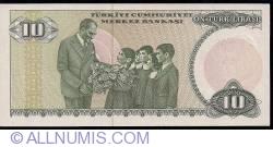 Image #2 of 10 Lira ND(1982)