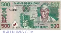 500 Leones 1995 (27. IV.)