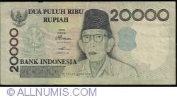 Imaginea #1 a 20 000 Rupiah 1998/1998