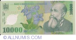 Image #1 of 10,000 Lei 2000/2001 - Governor signature Mugur Isărescu