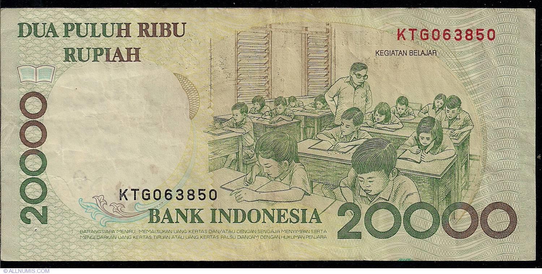 20,000 Rupiah 1998/1998, 1998-2004 - 20,000 Rupiah
